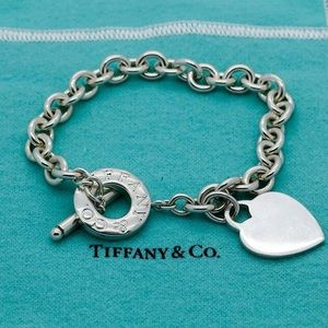 Authentic TIFFANY & CO Toggle Heart Bracelet
